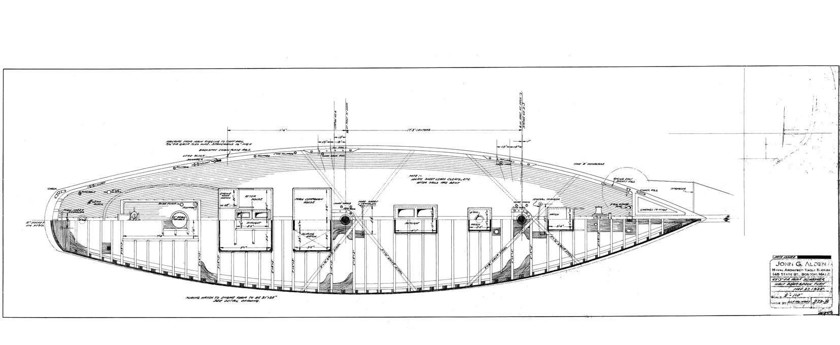The Deck Plan