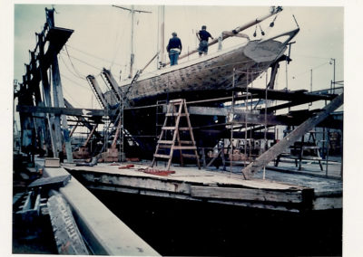 Dry Docked in Newport Beach.