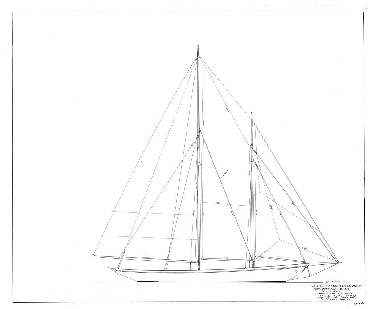 1938 Sail Plan